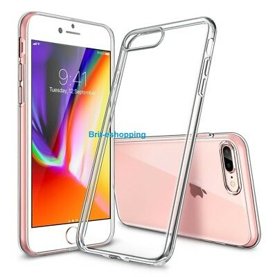 Luxury Ultra Slim Shockproof Silicone Clear Case Cover for iPhone SE 5S 5