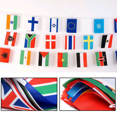 9m/11m String Hanging Flag 32 National Teams For 2018 Russia FIFA World Cup