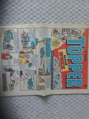 topper and buzz comic 1975
