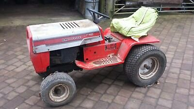 Small tractor was a lawn mower. Spares or repairs.