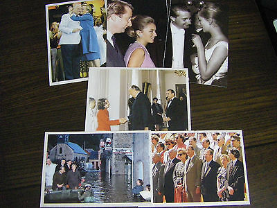 """6 CP """"Albert II & Paola"""" - reproductions cartes anciennes"""