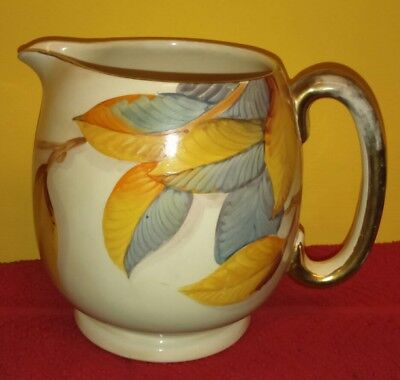 Stunning Grays Pottery Hand Painted Art Deco Jug Sam Talbot NRD A842 1933