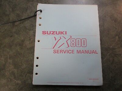 suzuki vx 800 vx800m vx800n vx800p 1990 1993 workshop manual repair manual service manual download