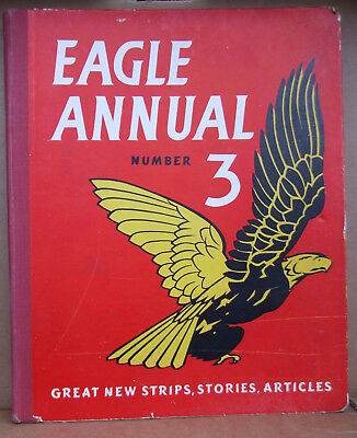 Vintage Eagle Annual No 3  (1953), vg pre-owned condition