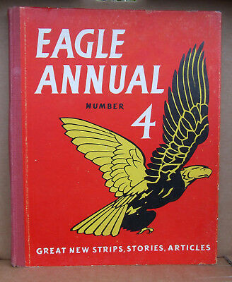 Vintage Eagle Annual No. 4  (1954), vg pre-owned condition