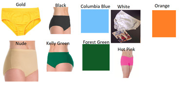 NEW Dance Cheer Trunks/Briefs ALL SIZES COLORS Body Wrappers/Capezio Jazz