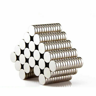 30Pcs Super Strong Round Disc Magnets 5mm x 3mm Rare Earth Neodymium N52 Magnet