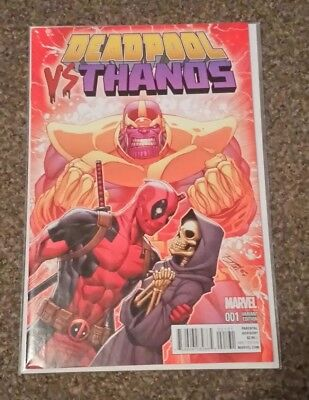 Deadpool vs Thanos #1. 1st Print. NM. Ron Lim Variant Cover.