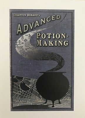 Harry Potter Advanced Potion Making Card and Envelope from Mina Lima