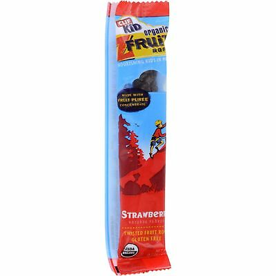 Clif Bar Kid Zfruit Organic Strawberry Case of 18 .7 oz