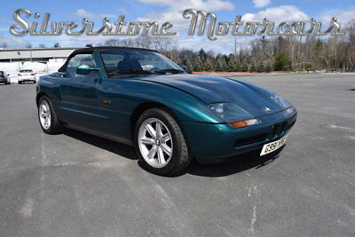 BMW Z1  1990 Green Rare Z1 Convertible Collector Car Well Optioned European