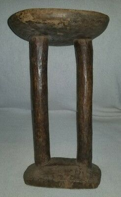 Antique, African,, Wooden, Stool