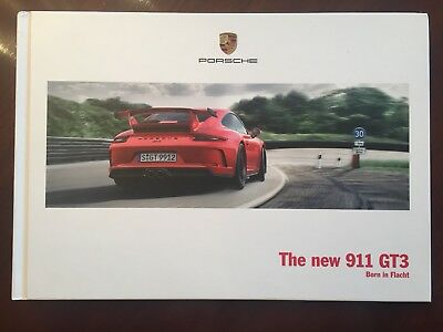 PORSCHE GT3 HARDBACK PRESTIGE BROCHURE NEW catalog book 911 motorsport