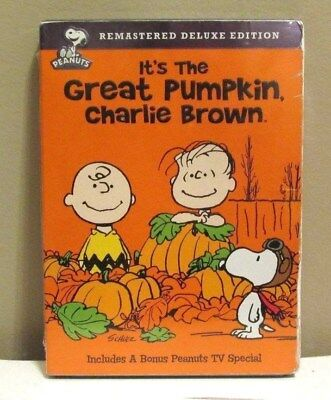 peanuts halloween its the great pumpkin charlie brown dvd remastered new