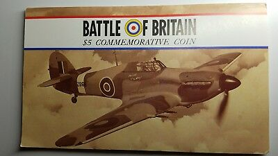 1990 Battle of Britain $5 Commemorative Coin - Marshall Islands