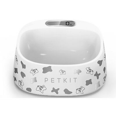 Petkit Smart Digital Pet Antibacterial Bowl with Scale - Cow Print