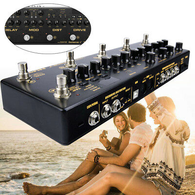 Cerberus Integrated Effects & Controller Overdrive Multi-Function Pedal Effekt