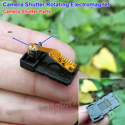 Digital Camera Shutter Micro Rotate Electromagnet Switch Lens Parts DIY