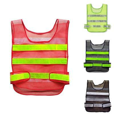 Sicherheits Traffic Warehouse Reflektierende Warn Weste Gelb Bau Nett Jacke