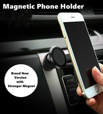 Universal Magnetic Ball Magnet Car Phone Holder Mount For iPhone X 8 7 6 Samsung