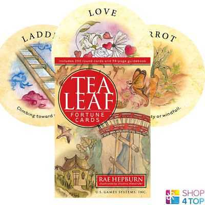 Tea Leaf Fortune Cards Deck Rae Hepburn Esoteric Telling Us Games Systems New