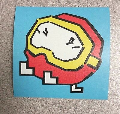Dig Dug Pooka sticker. 3.75 x 3.75. (Buy 3 stickers, GET ONE FREE!)