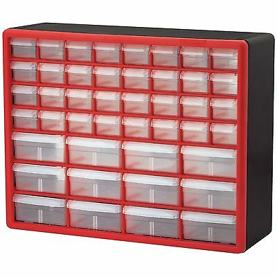 Small Parts Storage Cabinet Drawer Bin Organizer Box 44 Drawers Bins Craft  Screw