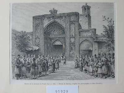 91929-Iran-Iran-Persien-Persia-Vakil Mosque-T Holzstich-Wood engraving
