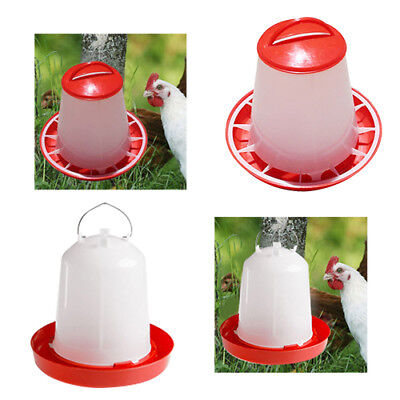 1.5kg Feeder & 1.5L Drinker Chicken/Poultry/Chick Food And Water Accesories HJ