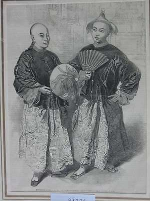 93775-Asien-Asia-China-A-Shing etc-T Holzstich-Wood engraving