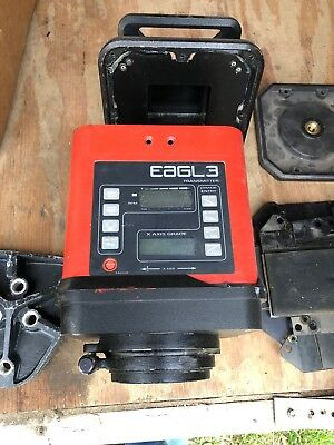 Agl Eagl 3 Electronic Dual Slope Rotary Laser Level