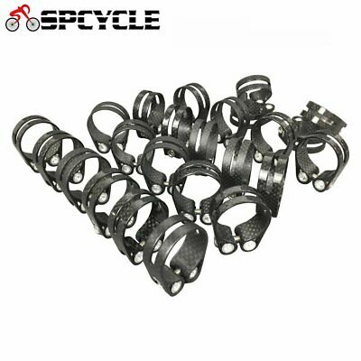 14g Carbon Bicycle Seat Clamps 31.8mm&34.9mm Size,Road MTB Bike Seatpost Clamps