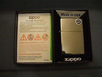 Black Ice Zippo Windproof Lighter-New In Box With Guarantee-Made In Usa