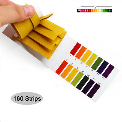 2 Pack Universal PH Test Strips 1-14 Test Paper Litmus Tester, 80pcs Per Pack
