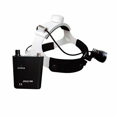 1W Headband Type Rechargeable Dental Surgical Medical LED Headlight Lamp JD2100