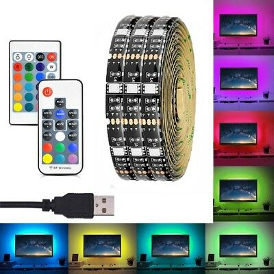 RGB USB LED Strip Bias Lighting For TV LCD HDTV Monitors LED Background Light