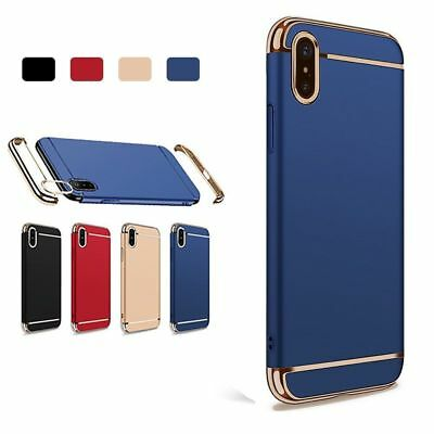 Luxury Ultra Thin Slim Plating 3 in 1 Shockproof Hard Case Cover For Huawei P20