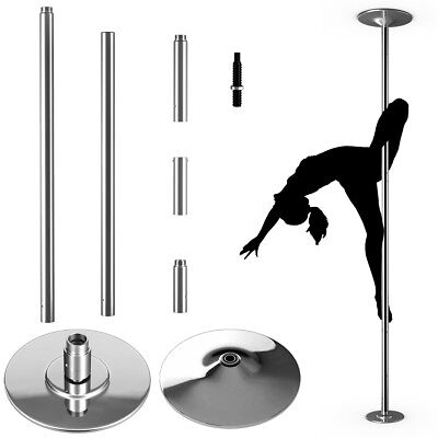 Profi Tanzstange 45mm GoGo Pole Dance Strip Stange inkl. DVD Static + Spinning