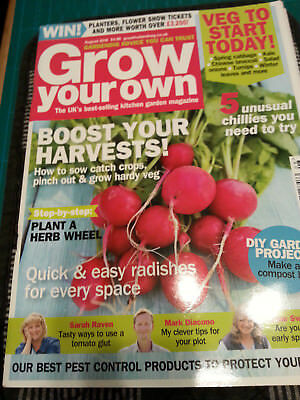 Grow Your Own Magazine August 2016 Gardening Vegetable Fruit Flowers