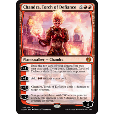 Magic: the Gathering MTG KALADESH * Chandra, Torch of Defiance