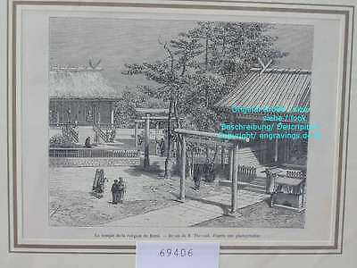 69406-Japan-Nippon-Nihon-Kami Tempel-TH-1880