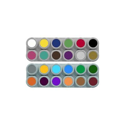 Grimas theatrical professional film stage water make up pure face paint palette