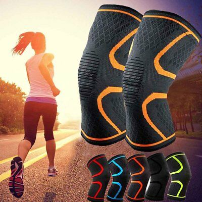 Knee Compression Brace Sleeve Patella Support Sports Arthritis Joint Pain Relief