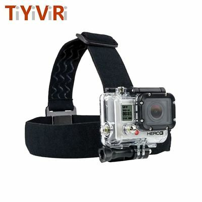 For Action Camera Tripod Headband Accessories Head Strap Professional Mount Helm