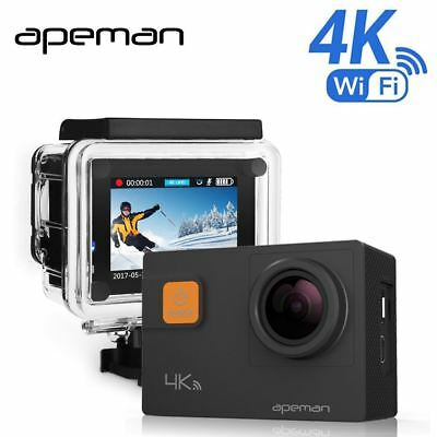 4k Action Camera A80 Pro Wifi Action Cam Full hd Underwater Waterproof Sport Vid