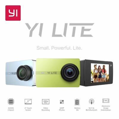 YI Lite Action Camera 16MP Real 4K Sports Camera with Built-in WIFI 2 Inch LCD S