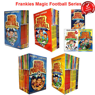 Frankies Magic Football Series 1 and 2 Collection Frank Lampard 1-13 Books Set