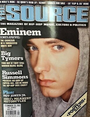 THE SOURCE - No 152, MAY 2002 - EMINEM COVER