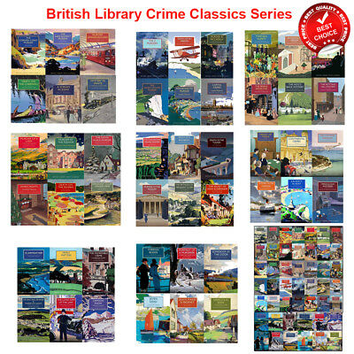British Library Crime Classics Series 1 2 3 4 5 6 upto 8 Collection Books Set