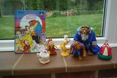 Disney Beauty  & The Beast Toys and Book